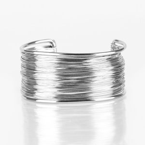 Wire Warrior - Silver Bracelet